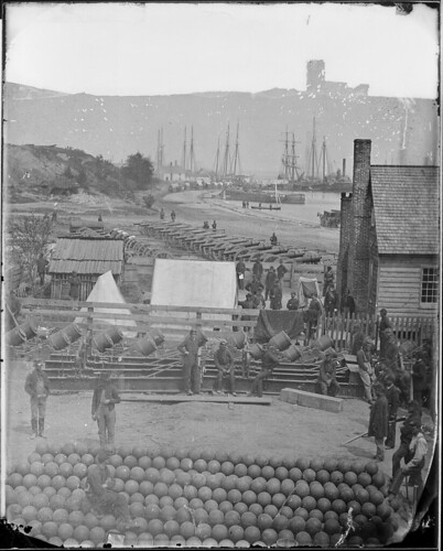 View of Yorktown, Virginia. May 1862