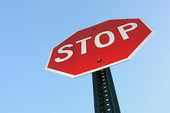Stop Sign by thecrazyfilmgirl