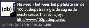 100 push ups