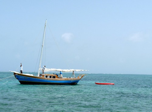 Sailboat, San Pedro, Belize