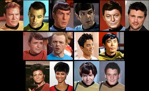 Star Trek, Crew