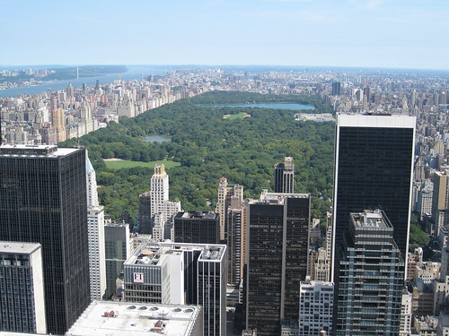 Central Park as seen from the Top of the Rock
