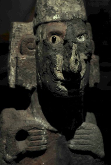 Creepy statue, Templo Mayor