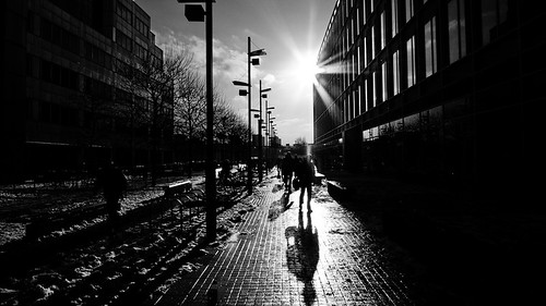 London BBC White City (long shadows)