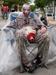 Lawn Chair Film Festival Zombie Contest