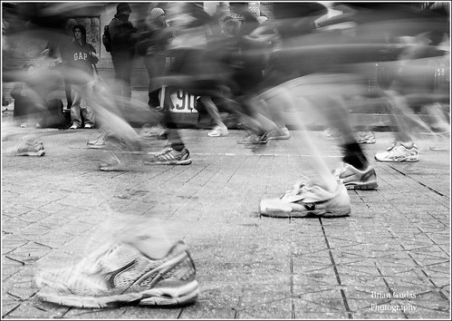The Ghosts of the Chicago Marathon ... 2009 (284/365)
