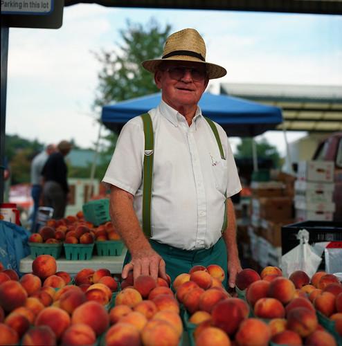 Peach Farmer from Flickr Member Audim Q. Culver