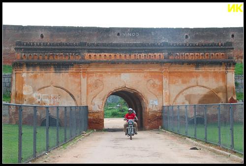 Devanahalli fort - inside view
