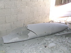 Unexploded missile  - Jenny by freegazaorg