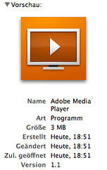 Adobe Media Player: Only 3 MB!?