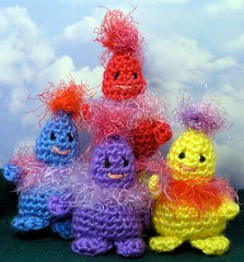 crocheted critters