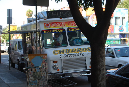 Salinas Churro Truck, Echo Park by you.