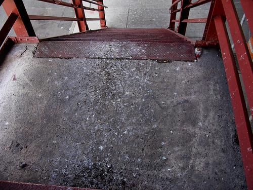 Pulaski Bridge Stairway by you.