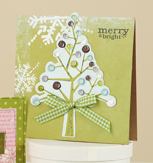 Julia Staintons Merry & Bright Card