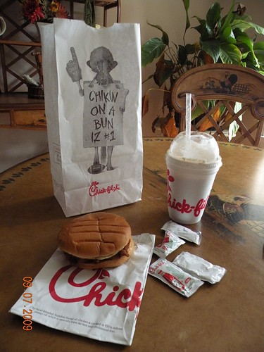 Did you get your free chicken sandwich on Labor Day?