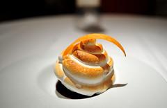Dessert: Coconut and Jasmine Ice Cream Bombe