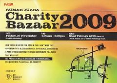Rumah Juara Charity Bazaar 2009