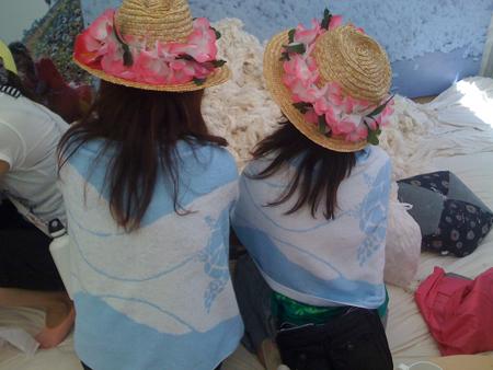 ap bank fest-girls in turtle towels-websized.jpg