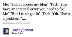 Web Hosting Customer Service Fail