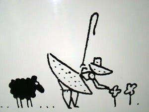 Canini, no FIQ! 2009 (pastorinha e ovelha)