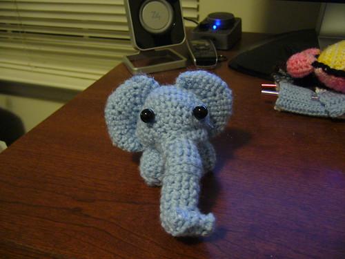 Caesar the deformed elephant