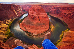 Dangling My Feet Off Horseshoe Bend