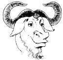 Esto es un ñu. Es el logo del proyecto GNU, iniciado por Richard Stallman en 1983. Linus Torvalds crearía el núcleo Linux en 1991, con el más conocido logo del pingüino.