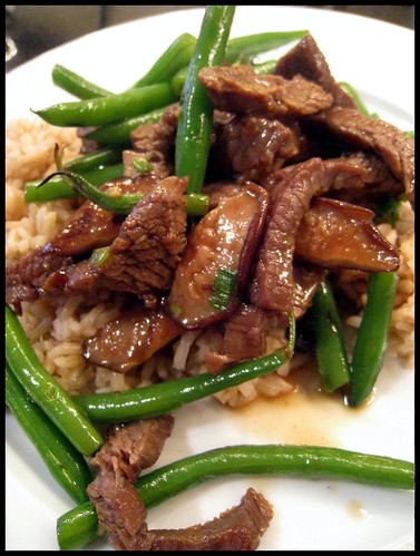 CI's Teriyaki Stir Fried Beef