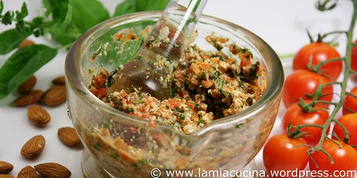 Spaghetti con pesto alla trapanese 1_2009 07 13_1448