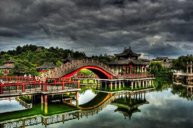 The Bridge in Hengdian.