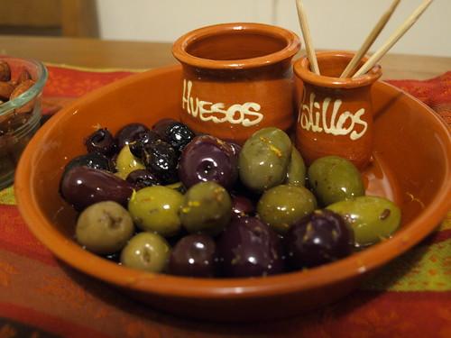 Warm Olives with Garlic & Citrus Zest
