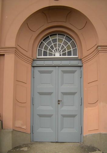 Dorfkirche Schöneberg - Seitentür