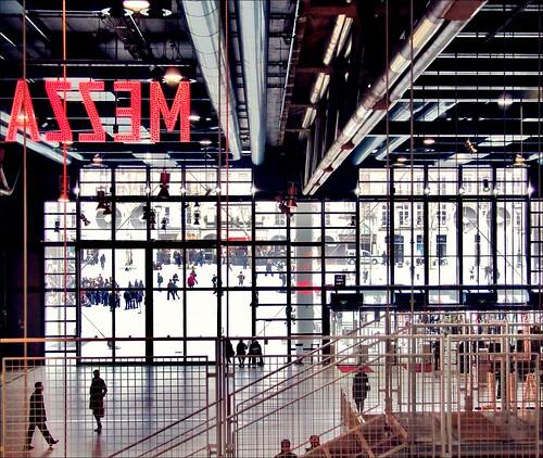 Mezzanine ~ Museum of Modern Art ~ Paris ~ MjYj by MjYj