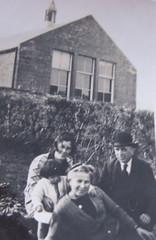 mum, gran and grandpa and great aunt mina