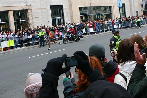 Deriba Merga - Men's Boston Marathon Winner