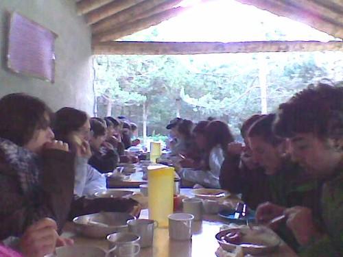 El menjar és boníssim!