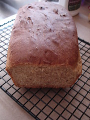 Wheat batter bread
