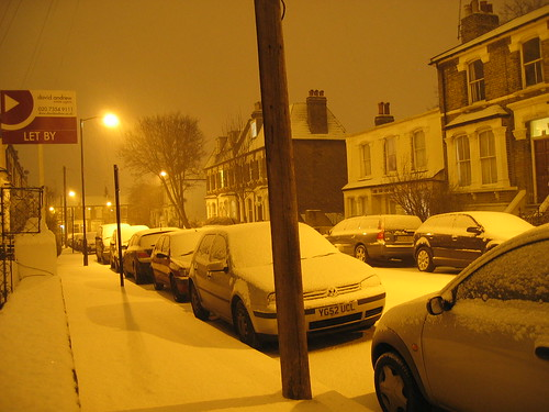 Snow in Arsenal