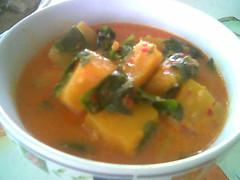 Bandong's masak lemak labu & cangkuk manis