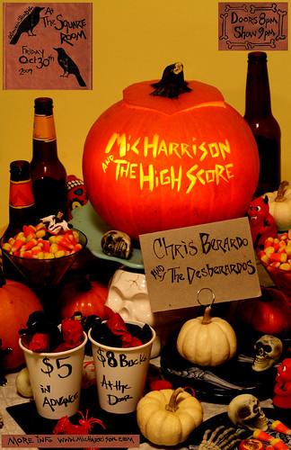mic harrison halloween