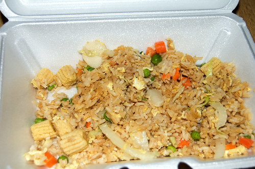 Fried Rice Leftovers