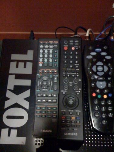 Foxtel remotes