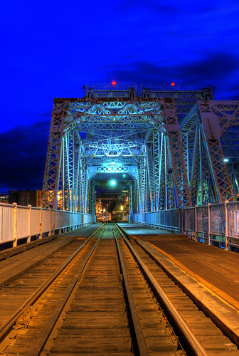 The Johnson Street Bridge: Victoria B.C by Brandon Godfrey.