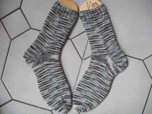 Socken aus Strauss Innovation Sockenwolle