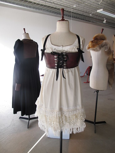 bara baras - exhibition clothing