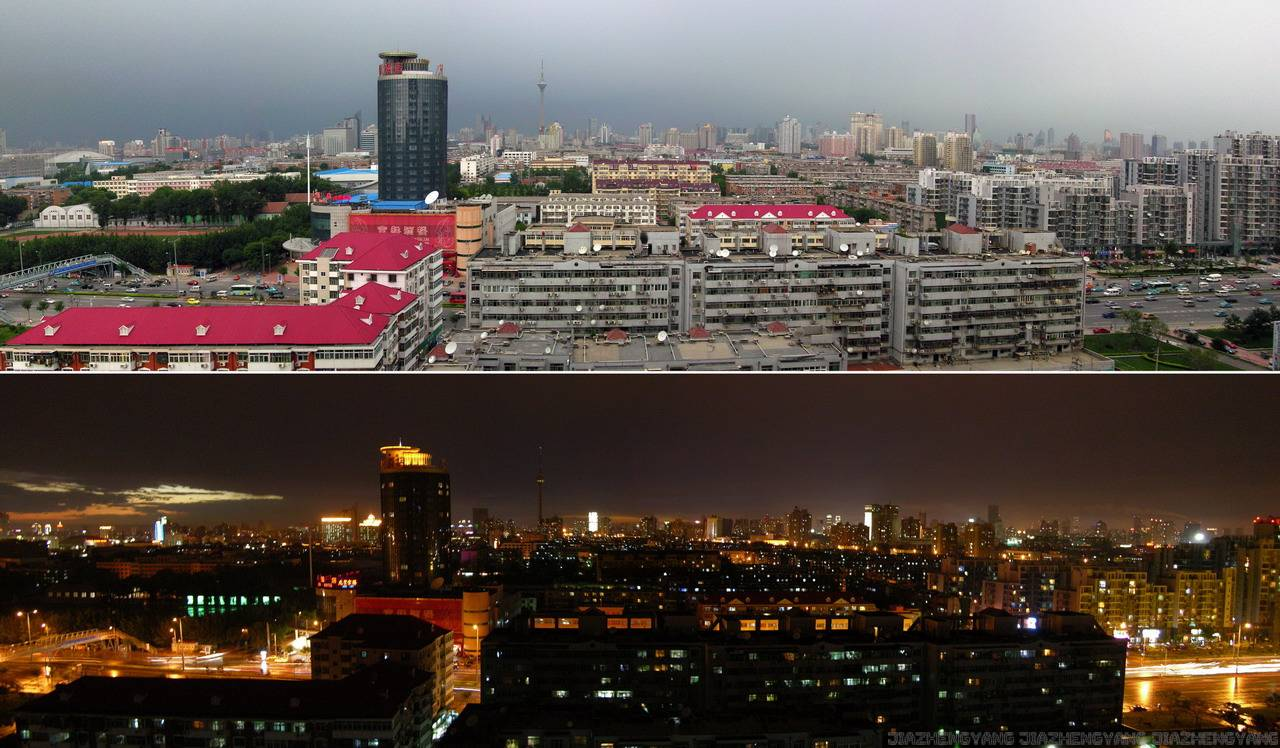 黑夜是城市的遮羞布