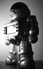 serious robot
