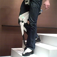 Stride Management Assist and Body Weight Support Assist exoskeleton device from Honda