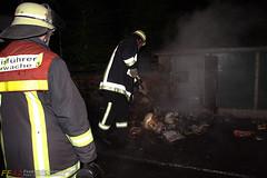 Mülltonnenbrand Tennelbachstr. 22.07.09