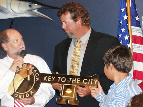 Joel Brandnenburg - AB Honorary Mayor